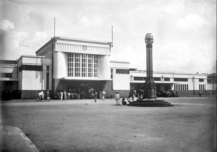 Bandoeng_station ca 1930