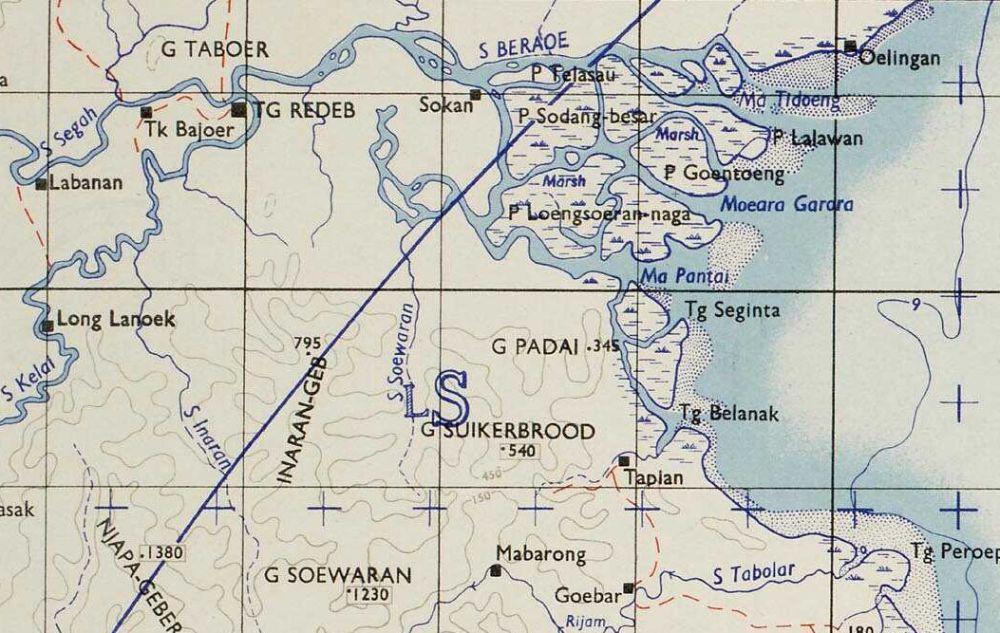 De rivier Beraoe