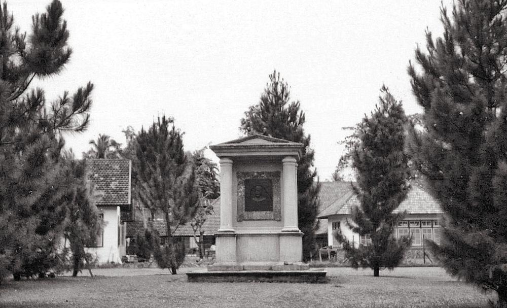 Monument Welsink in Welsinkpark, Sibolga